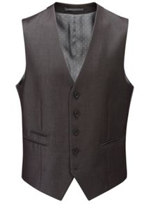 Skopes Sumner Plain Tailored Fit Waistcoat