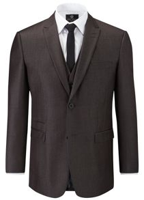 Sumner Plain Tailored Fit Suit Jacket