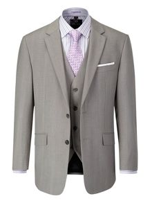 Rushton Stripe Notch Collar Classic Fit Suit Jack