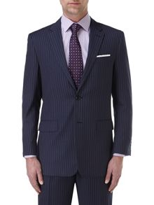 Thomsett Stripe Classic Fit Suit Jacket