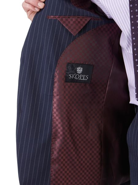Skopes Thomsett Stripe Classic Fit Suit Jacket