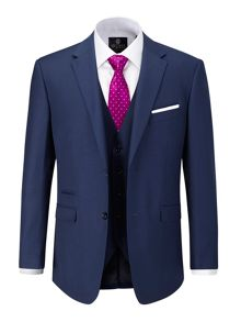 Joss Plain Tailored Fit Suit Jacket
