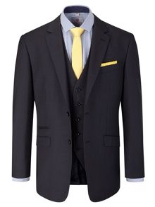 Kerry Check Notch Collar Tailored Fit Suit Jacket