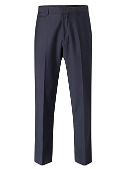 Noble Stripe Tailored Fit Suit Trousers