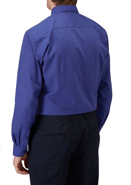Skopes Plain Slim Fit Long Sleeve Formal Shirt