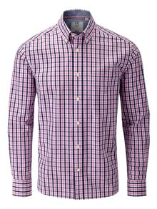 Check Classic Fit Button Down Shirt