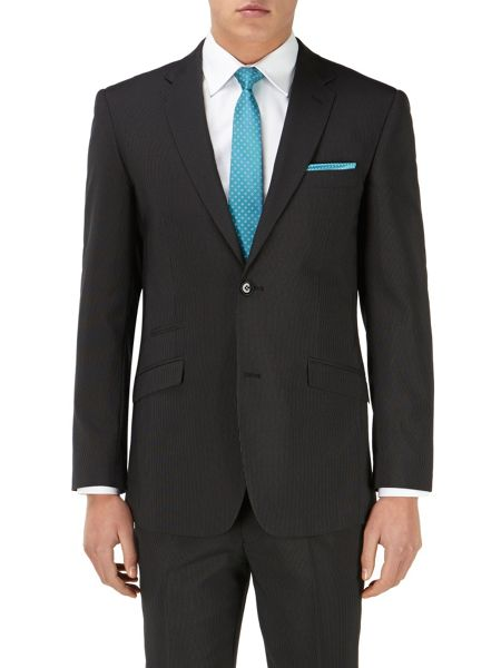 Skopes Olaf Stripe Tailored Fit Suit Jacket