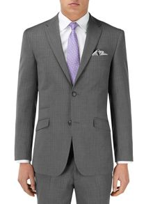 Kristoff Stripe Tailored Fit Suit Jacket