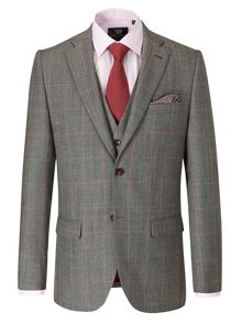 Cole Check Tailored Fit Suit Jackets