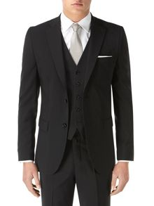 Piero Plain Tailored Fit Suit Jackets