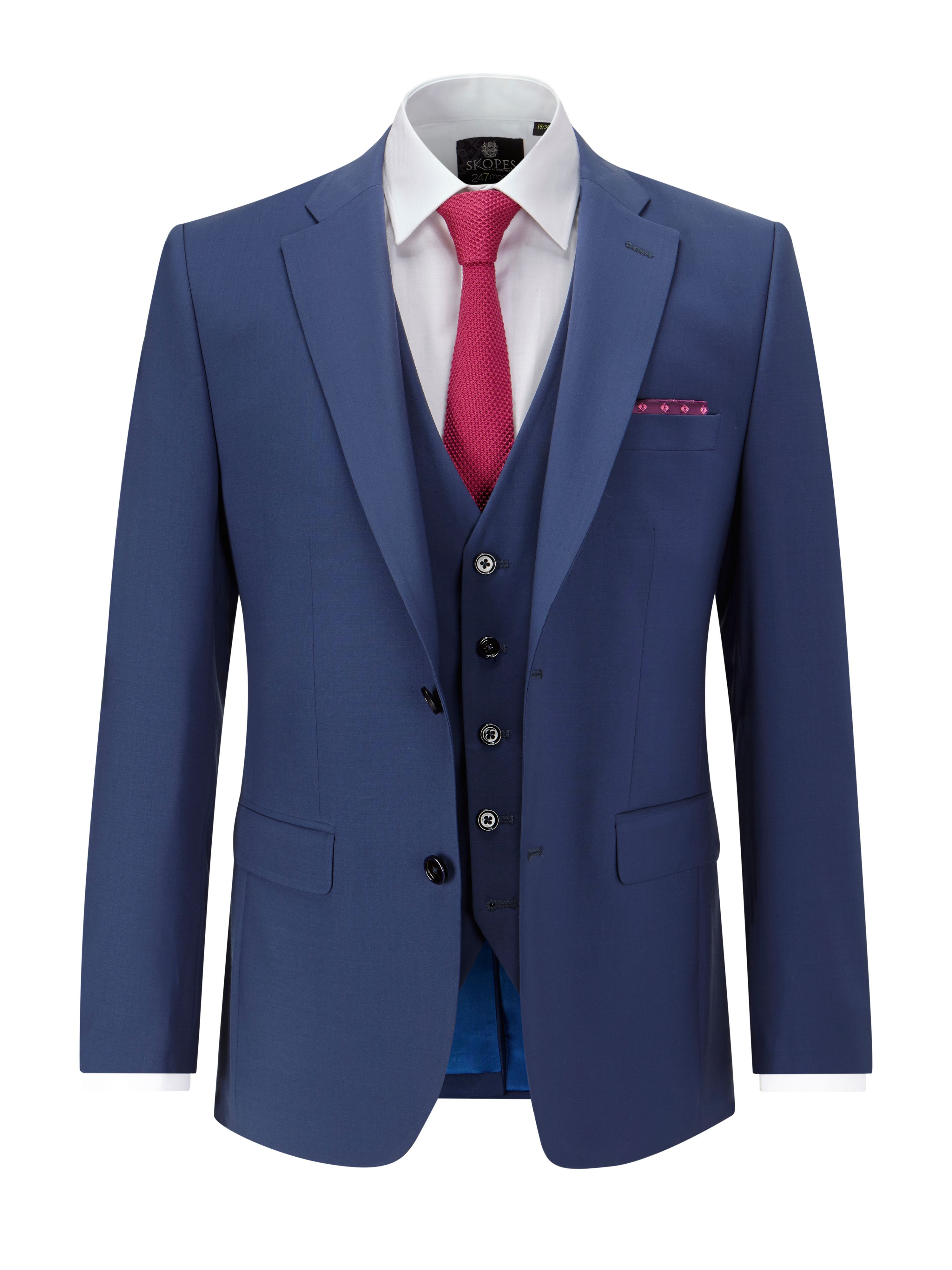 Men's Skopes Xavier Suit Jacket, Royal Blue