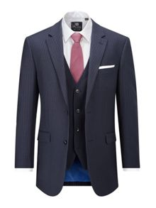 Skopes Law Stripe Suit Jacket
