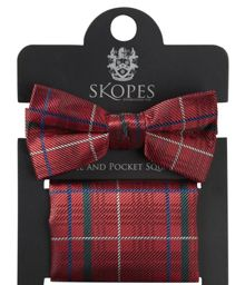 Skopes Bow Tie & Pocket Square