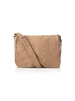 Skopes Tan Messenger Bag