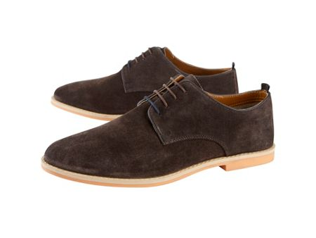 Skopes Suede Brown Shoes