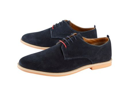 Skopes Suede Navy Shoes