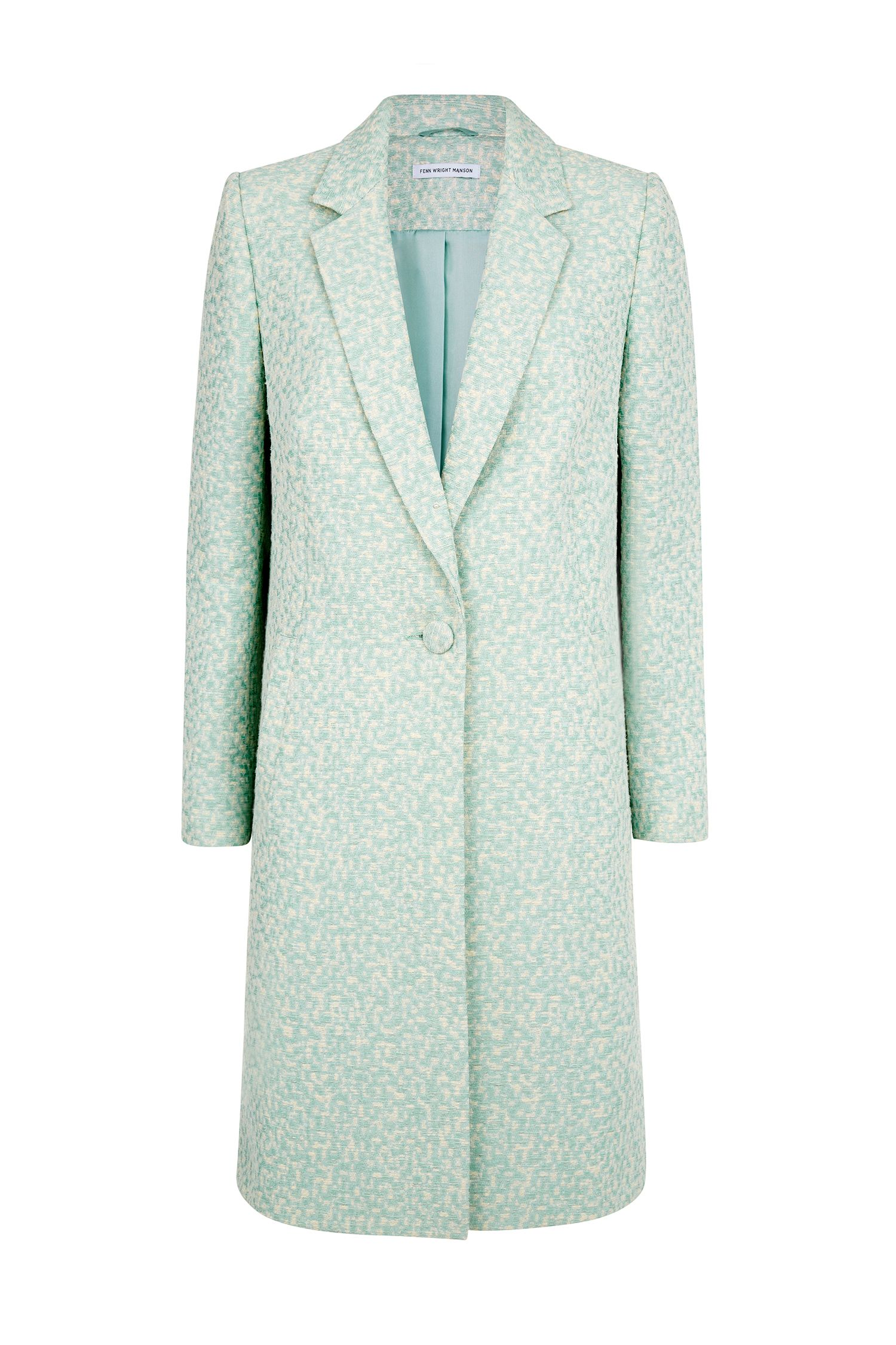 Fenn Wright Manson Lupine Coat, Blue