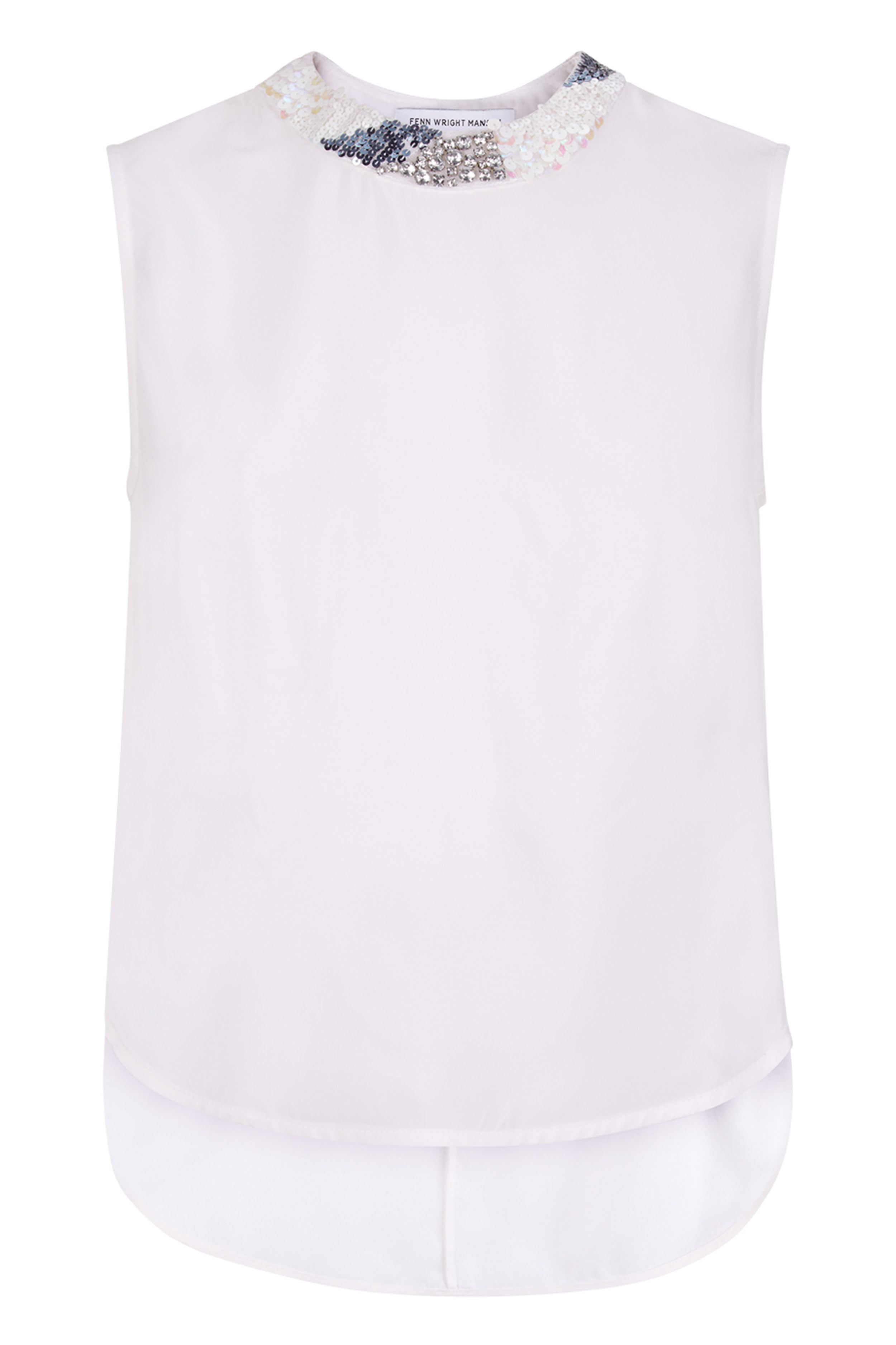 Fenn Wright Manson Verbena Top, White