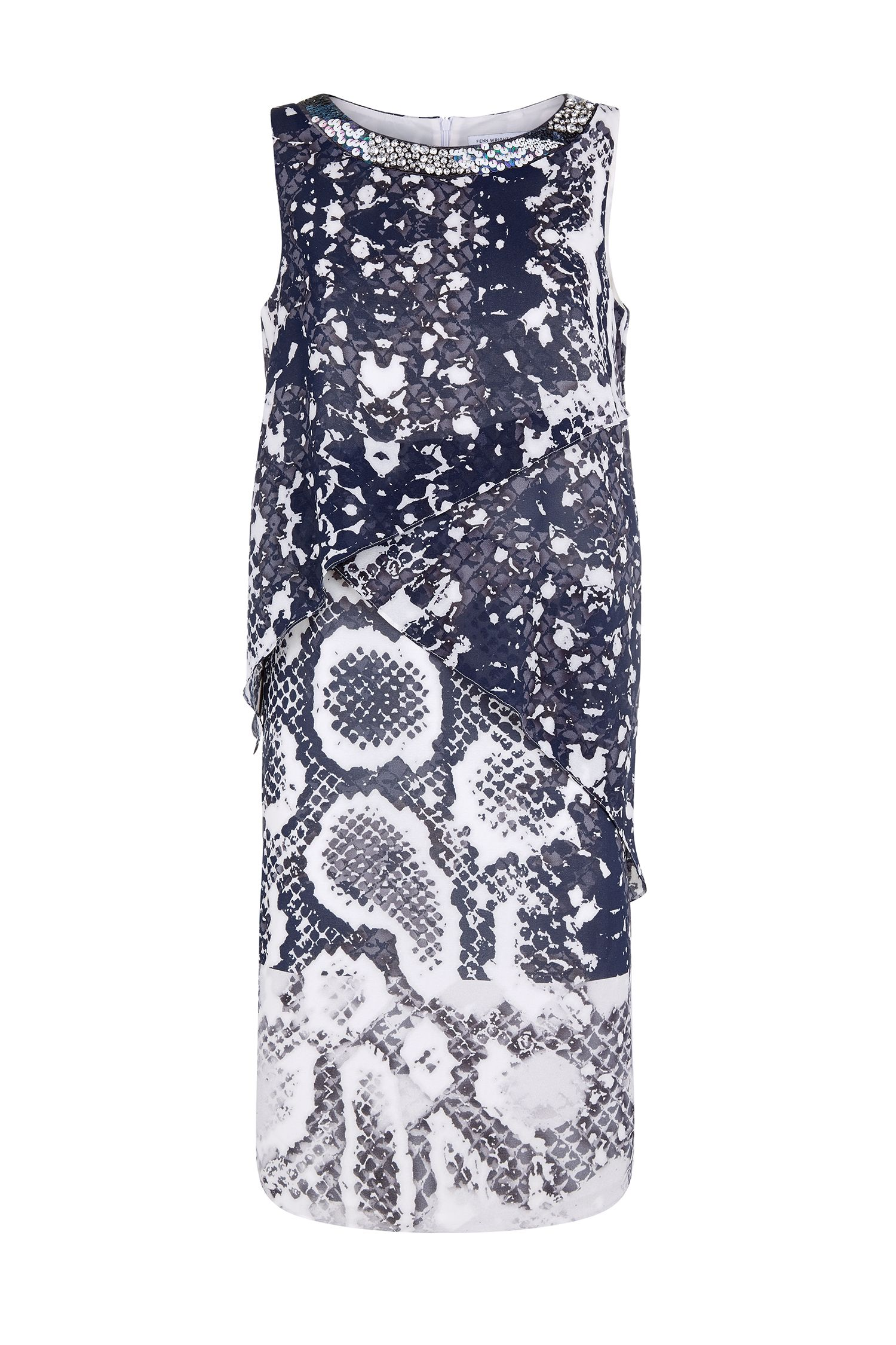 Fenn Wright Manson Astelia Dress, Multi-Coloured