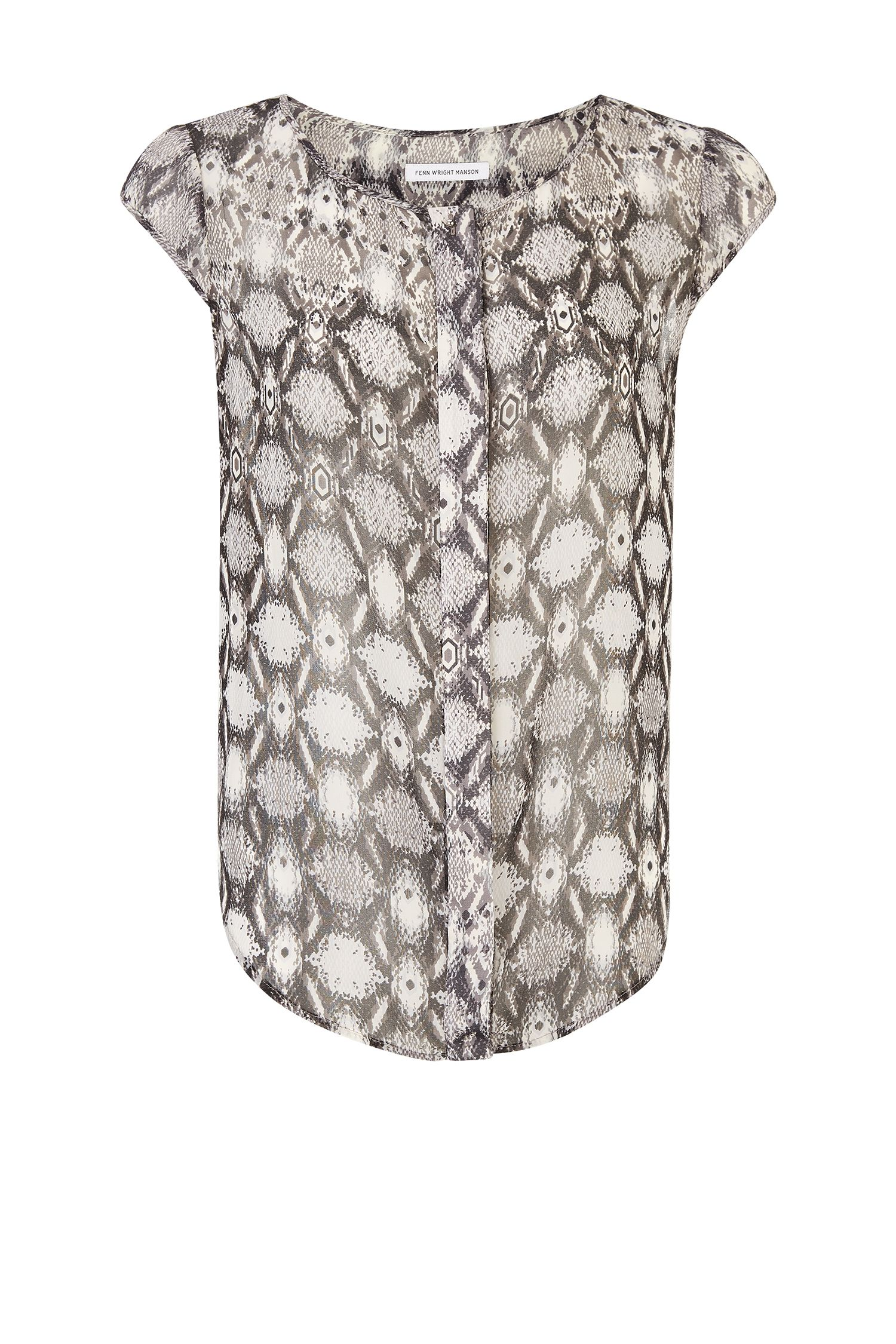 Fenn Wright Manson Logan Top, Grey Marl
