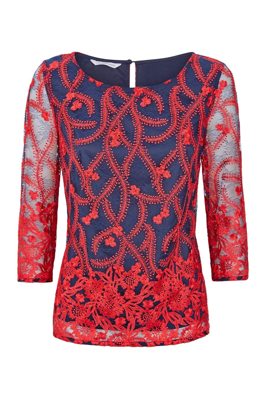 Fenn Wright Manson Lorna Top, Red Multi
