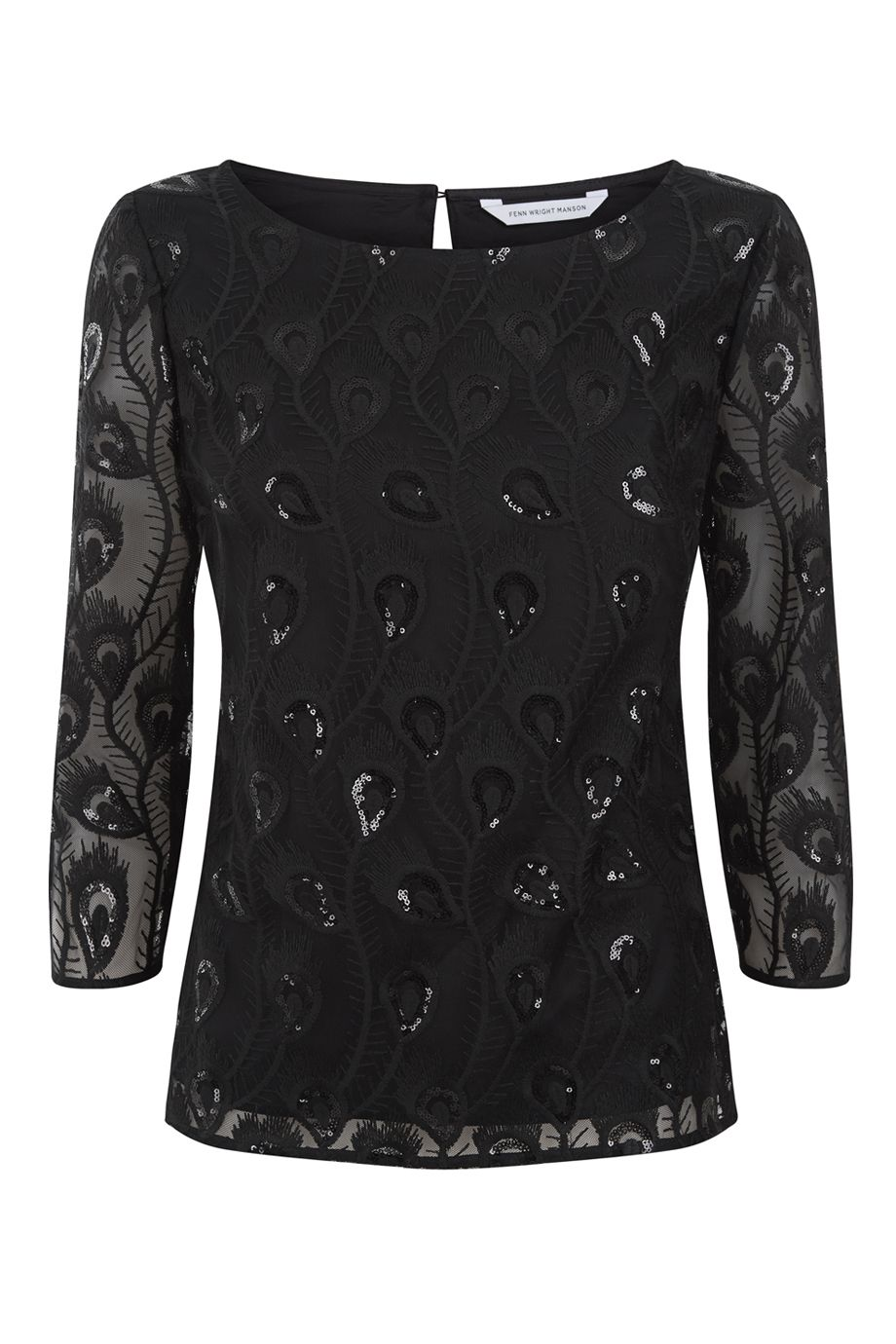 Fenn Wright Manson Monique Top, Black