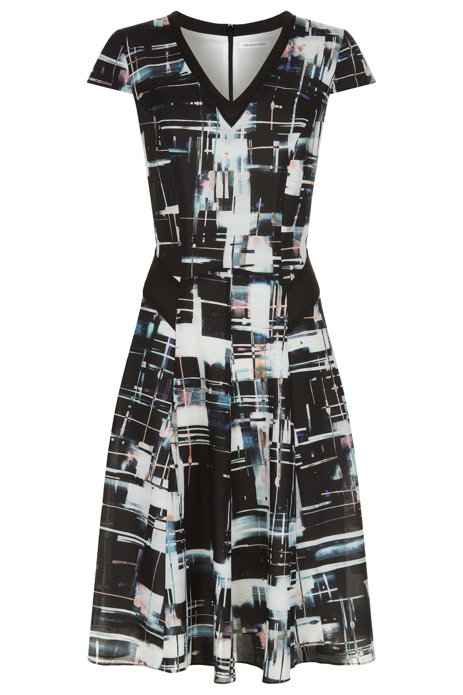 Fenn Wright Manson Libra Dress, Multi-Bright