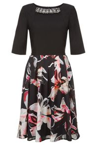 Fenn Wright Manson Scorpio Dress Lily Print