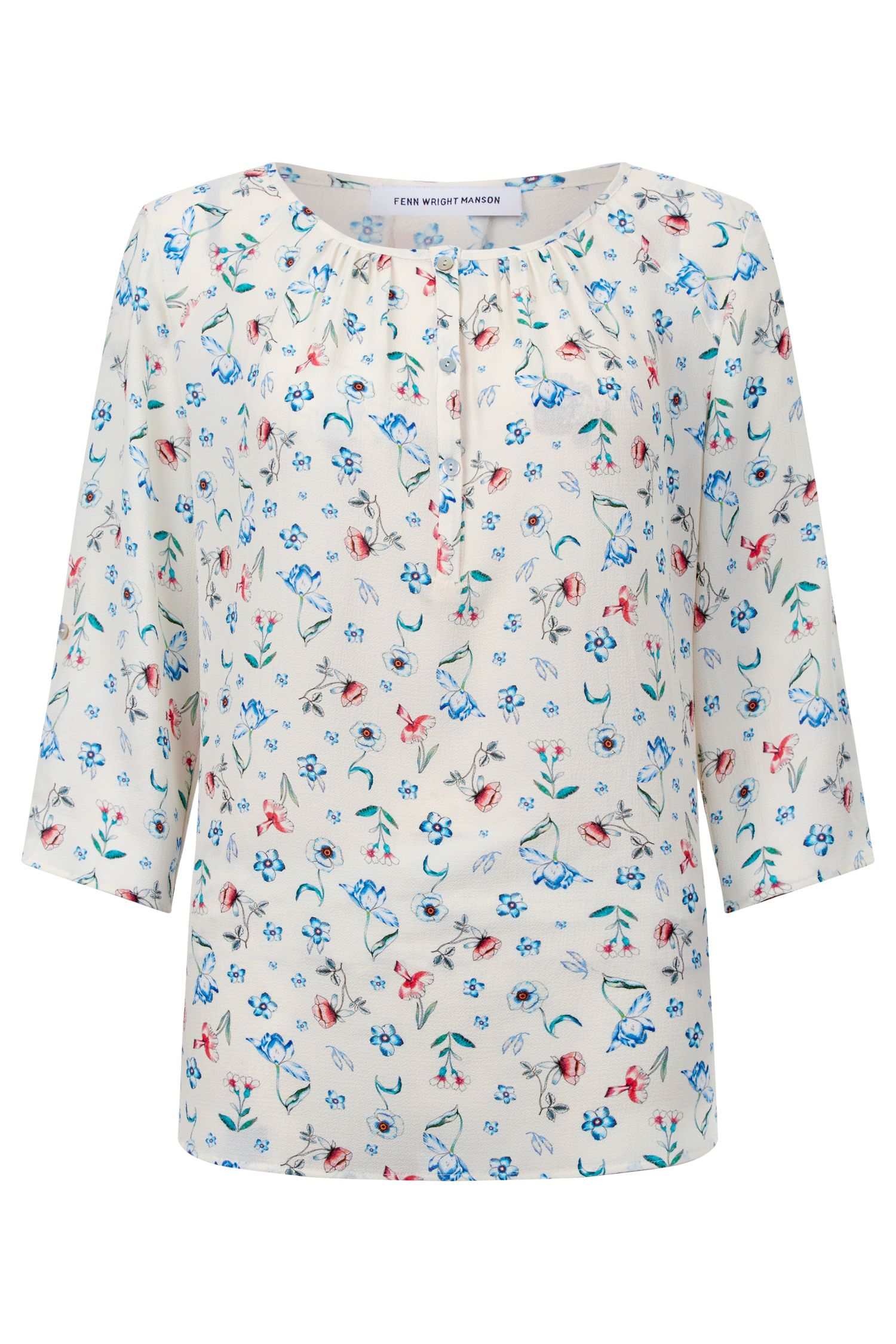 Fenn Wright Manson Seville Top, Multi-Coloured