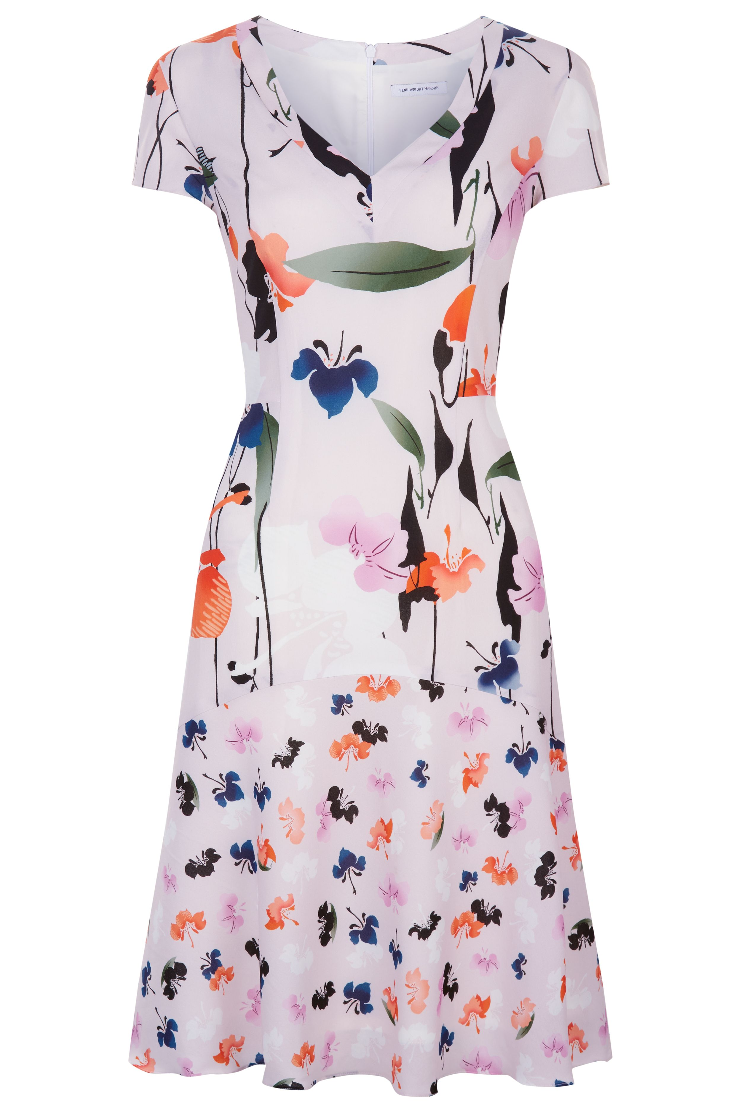 Fenn Wright Manson Majorca Dress, Multi-Coloured