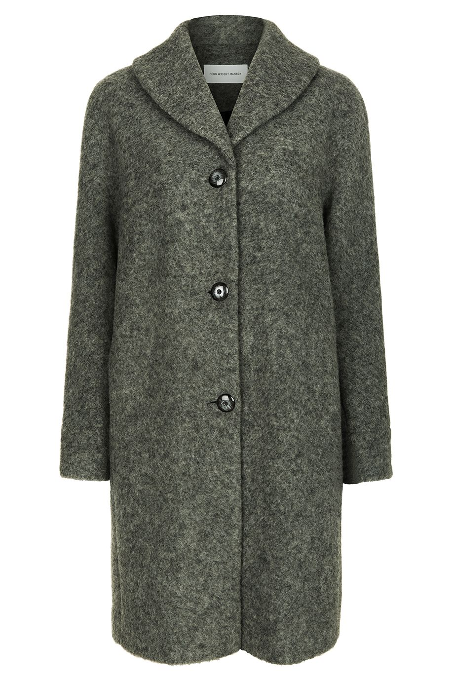 Fenn Wright Manson Rose Coat, Charcoal