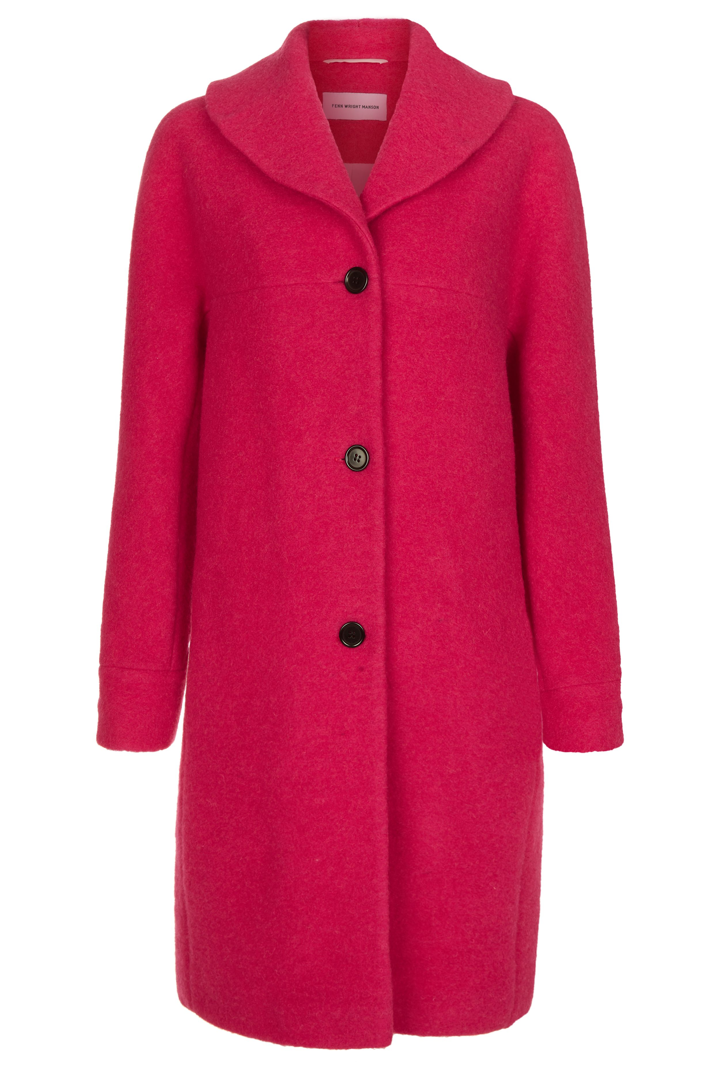 Fenn Wright Manson Rose Coat, Pink