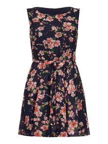 Yumi Jasmine Print Day Dress