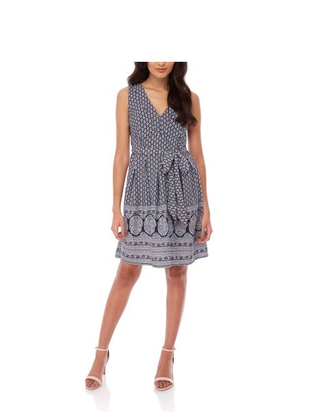 Yumi Rose Paisley Print Day Dress