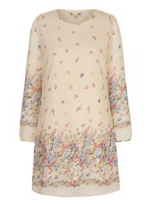 Yumi Summer Flower Tunic Dress