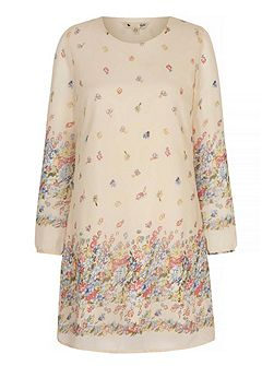 Summer Flower Tunic Dress