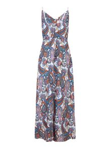Mela Loves London Paisley Print Maxi Dress