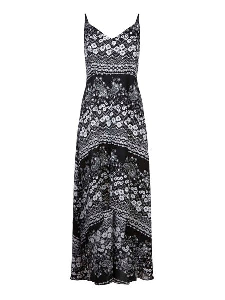 Mela London Daisy Lace Print Maxi Dress