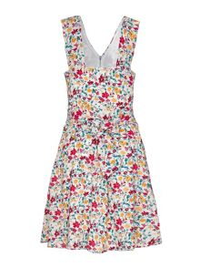 Yumi Floral Front Zip Dress