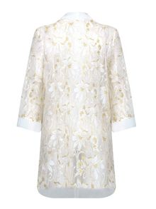 Mela London Gold Detail Lace Kimono