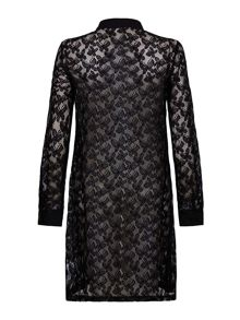 Mela London Lace Shirt Dress
