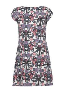 Mela Loves London Art Nouveau Print T-Shirt Dress