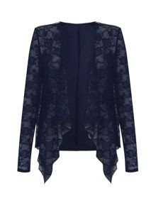 Mela Loves London Lace Waterfall Jacket