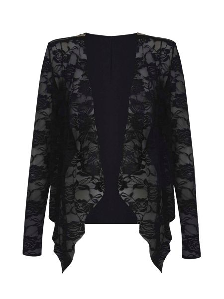 Mela London Lace Waterfall Jacket