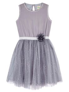 Yumi Girls Sequin Sparkle Prom Dress