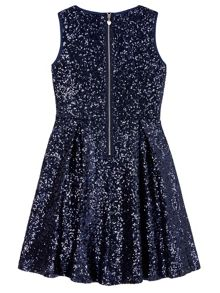 Yumi Girls Sequin Party Dress
