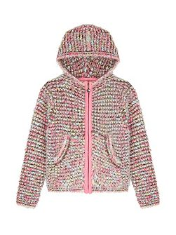 Boucle Fluffy Hoody
