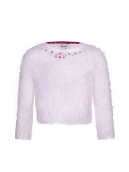 Fluffy Sequin Jumper