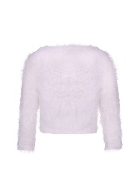 Yumi Girls Fluffy Sequin Jumper