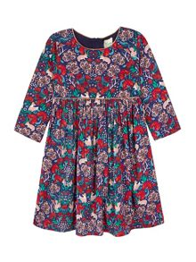 Uttam Tunic Dress With Woodland Print